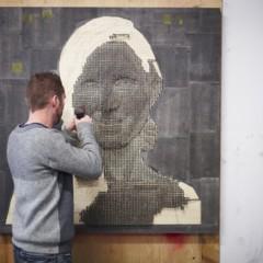 Foto 2 de 7 de la galería retratos-hechos-con-clavos en Decoesfera