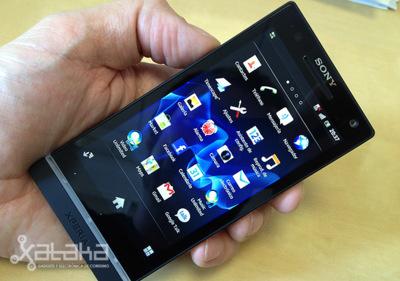 Sony Xperia S. Análisis (II)