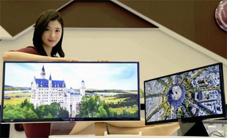 LG tiene un arsenal de monitores ultrapanorámicos preparado para el CES 2014