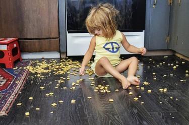 Las 12 cosas que en casa están siempre hechas un asco por culpa de los niños