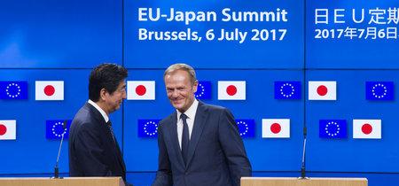 La UE y Japón firman un acuerdo de libre comercio en plena guerra arancelaria de Trump