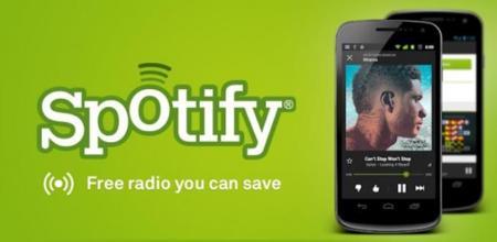 Spotify actualiza su aplicación para Android con el servicio de radio bajo demanda