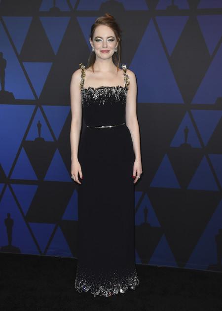 Alfombra Roja Premios Gobernador 2018 Emma Stone Louis Vuitton