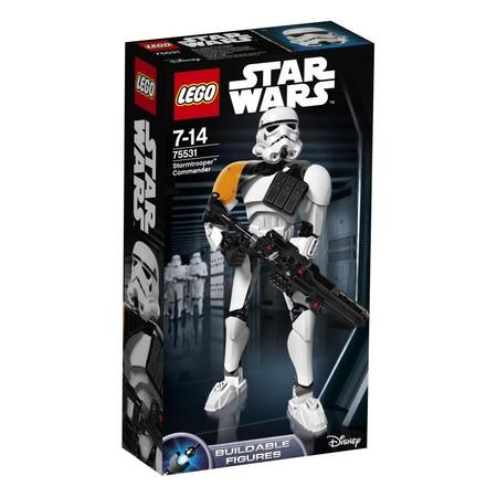 Chollazo: el comandante Stormtrooper de Lego Star Wars con 100 piezas cuesta sólo 14 euros en Amazon