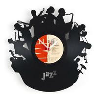 Re_Vinyl, discos de vinilo convertidos en sorprendentes relojes de pared