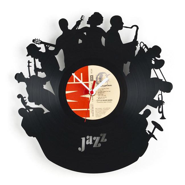 Re vinyl discos de vinilo convertidos en sorprendentes - Relojes de vinilo ...