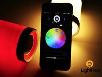 LightFreq, la primera bombilla LED con WiFi, Bluetooth y sonido HD, intenta salir adelante en Kickstarter
