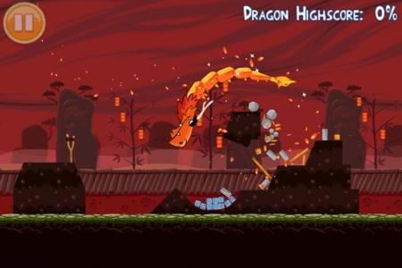 Angry Birds Seasons celebra el año del Dragón