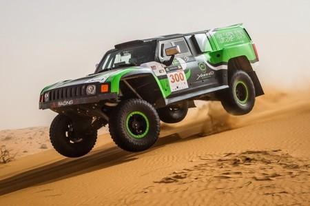 El accidente de Yazeed Al Rajhi con el Hummer que le deja KO tres meses