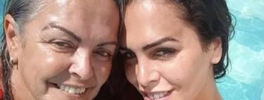 Amor Romeira da el último adiós a su madre, Mensi Medina, y todo Telecinco se vuelca con ella