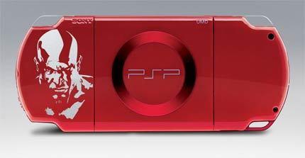 PSP edición especial 'God of War: Chains of Olympus'
