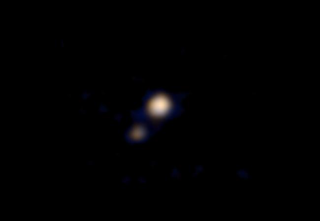 Pluton Caronte New Horizons