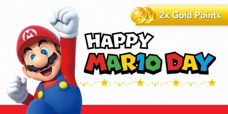 Nintendo celebra el día de Mario con una promoción especial para obtener el doble de puntos de oro en juegos de Mario