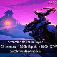 Streaming de Realm Royale a las 17:00h (las 10:00h en CDMX) [finalizado]