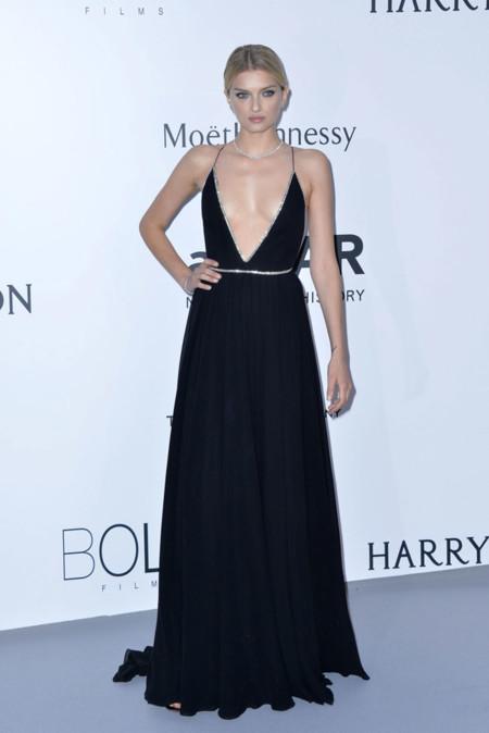 Lily Donaldson Amfar Cannes 2015