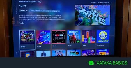 Cómo buscar juegos gratis en tu Xbox Series X y Series S