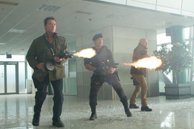 Imagen de la película 'Los Mercenarios 2' (The Expendables 2)