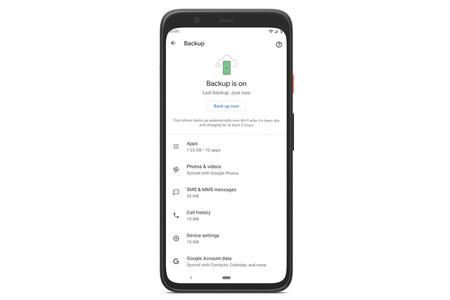 """Google pone orden en las copias de seguridad de Android con el nuevo menú """"Backup by Google One"""""""