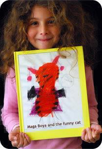 Un libro de cuento con los dibujos e historias de tu hijos, Tikatok