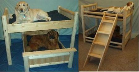 literas con escaleras para perros