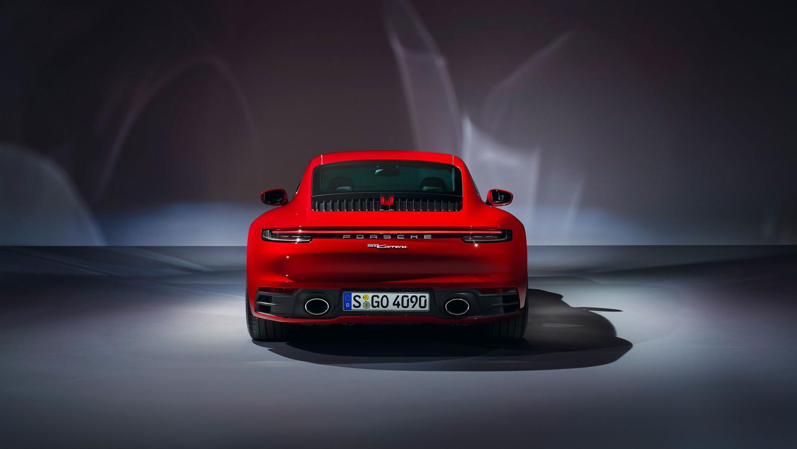 Foto de Porsche 911 Carrera y Carrera Cabriolet 2019 (10/12)