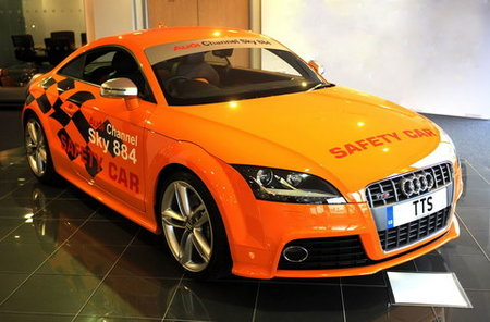Audi TT-S, safety car para carreras de Tourist Trophy