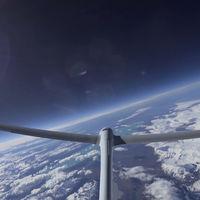 El 'Airbus Perlan Mission II' se convierte en el primer planeador sin motor en llegar a los límites del espacio