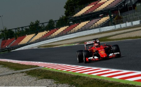 Finalizan los dos días de test en Montmeló...sin pilotos titulares de Ferrari