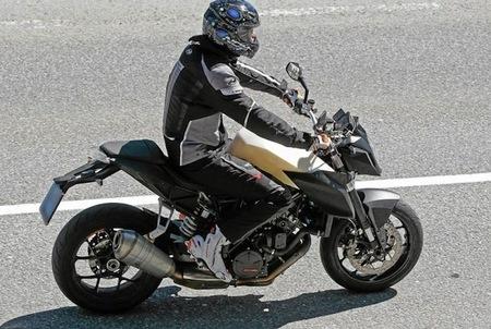Fotos espía de la KTM 1190 Superduke