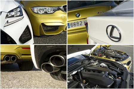 BMW M4 Vs Lexus RC F Motorpasion 1000 1