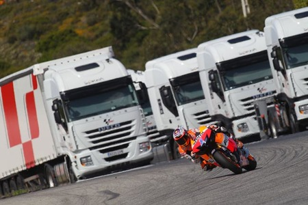 Casey Stoner en Estoril 2012