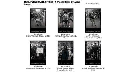 El diario fotográfico de Occupying Wall Street por Accra Shepp