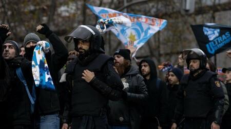 Antidisturbios partido
