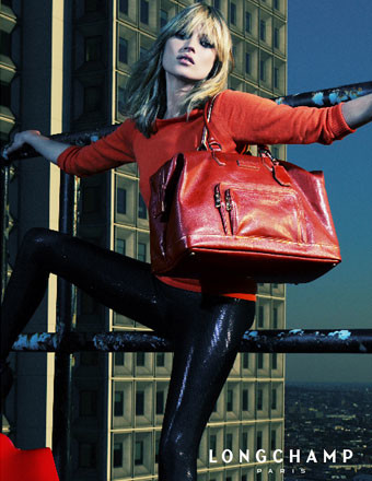 Kate Moss para Longchamp Primavera/Verano 2008