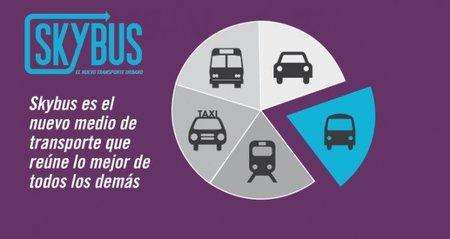 Skybus, llega el autobús flexible