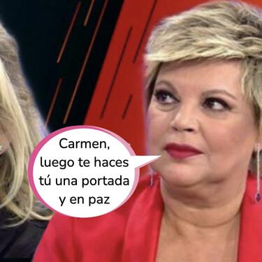 Carmen Borrego se queda tirada: Terelu Campos le roba el puesto en 'Sálvame' como 'Defensora de la Audiencia'