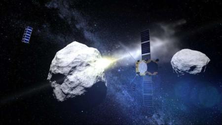 NASA y ESA ponen en marcha su misión para desviar asteroides golpeando naves contra ellos