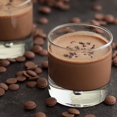 Batido helado de chocolate y café: receta