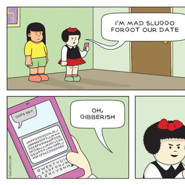 La famosa tira cómica 'Nancy' ya es millennial: usa redes sociales y rompe la cuarta pared