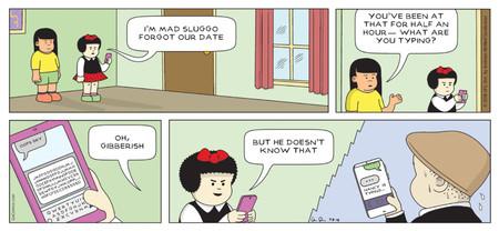 La famosa tira cómica \'Nancy\' ya es millennial: usa redes ...