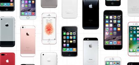 Así son los quince teléfonos que ha creado Apple antes de llegar al iPhone del décimo aniversario