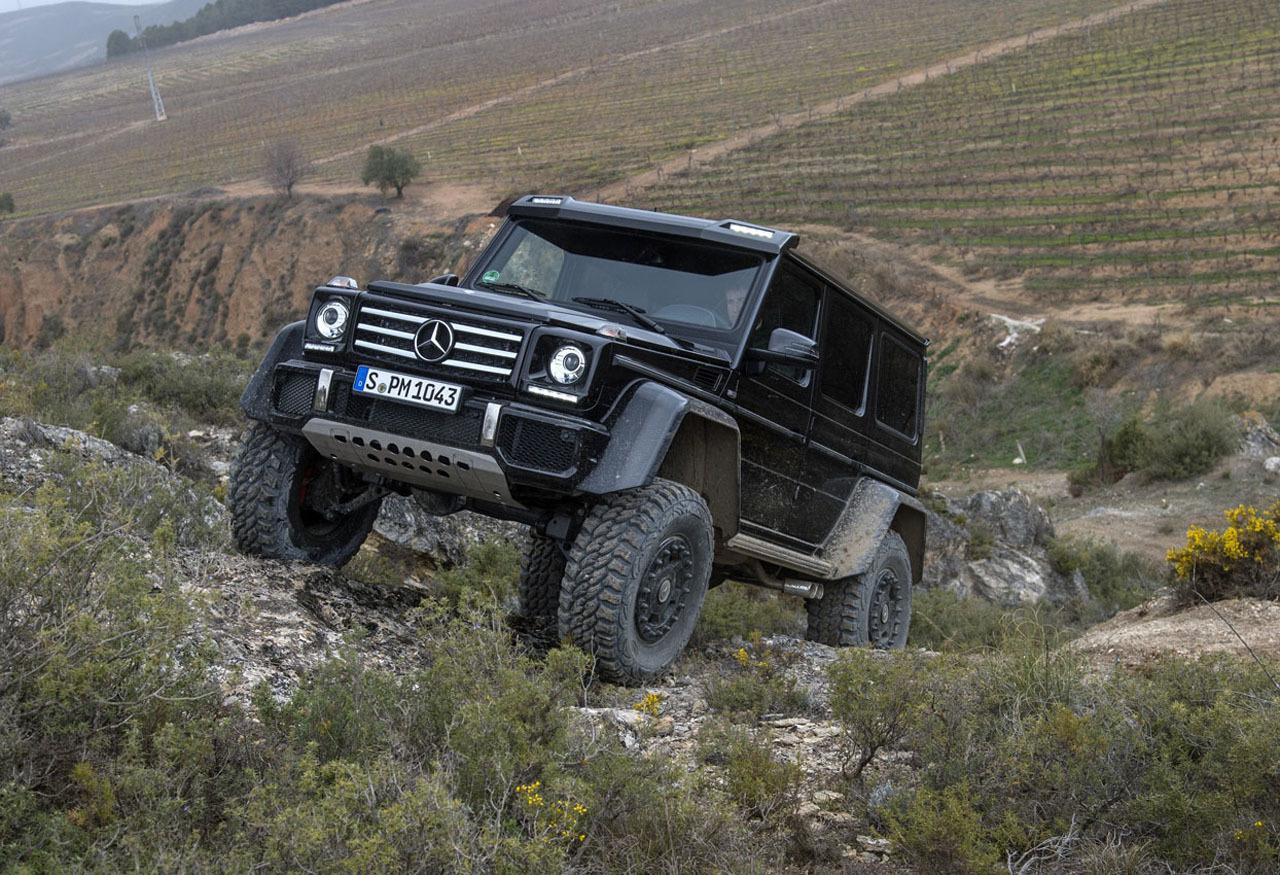 Foto de Mercedes-Benz G 500 4x4², toma de contacto (59/127)
