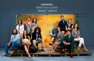 Cortefiel, en su nueva campaña, nos invita a conocer a la `Gente con talento´