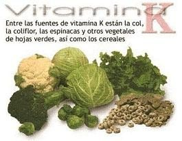 Vitamina K, la vitamina de la coagulación