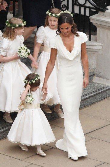 Bocados de realeza 2: cómo hacerte con los vestidos de Kate y Pippa ...