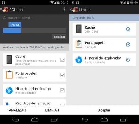CClean para android 01