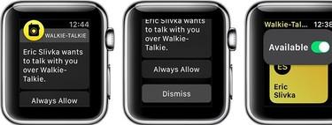La función de Walkie-Talkie ya está disponible en la segunda beta de watchOS 5