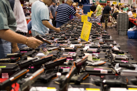 Houston Gun Show At The George R Brown Convention