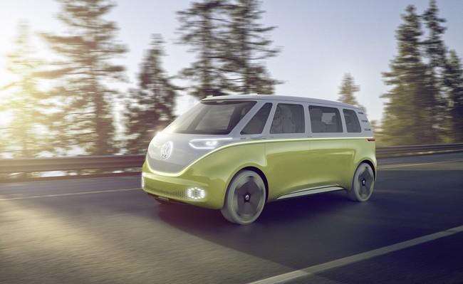 """Volkswagen confirma que tendrá una """"Combi eléctrica"""" para 2022"""