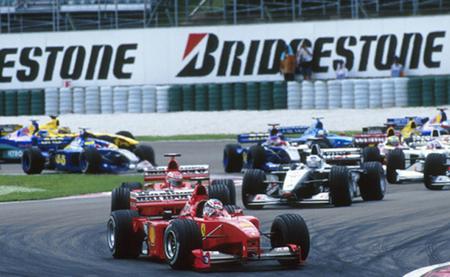 Salida GP Malasia F1 1999